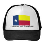 Colombian and Texan Pride Trucker Hat