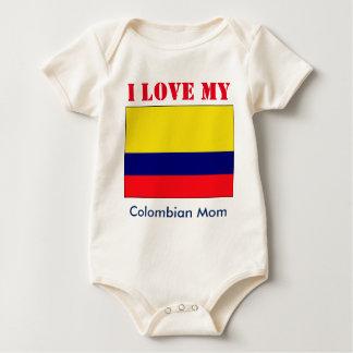 Colombian baby baby bodysuit