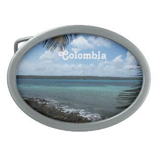 Colombian Beach Oval Belt Buckle