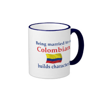Colombian Builds Character Ringer Mug