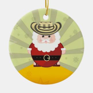 colombian christmas christmas ornament
