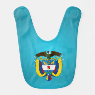 Colombian coat of arms bib