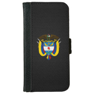 Colombian coat of arms iPhone 6 wallet case