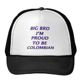 colombian design trucker hat