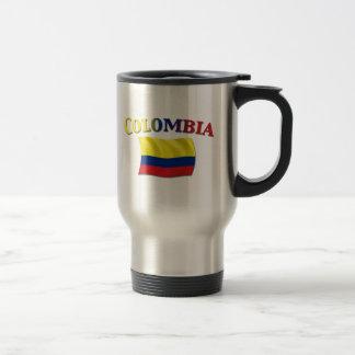 Colombian Flag 2 Travel Mug
