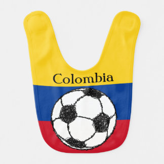 Colombian flag with Football Bib