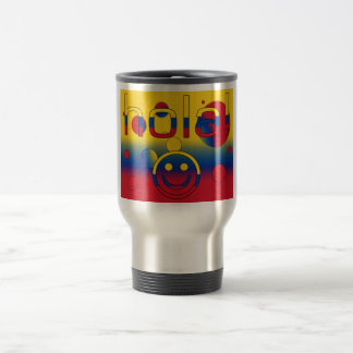 Colombian Gifts : Hello / Hola + Smiley Face Mug