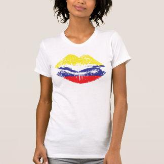 Colombian Lips tank top design for women