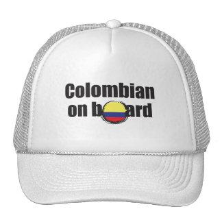 Colombian on Board Cap