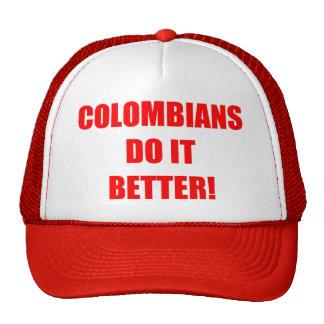 COLOMBIANS DO IT BETTER CAP