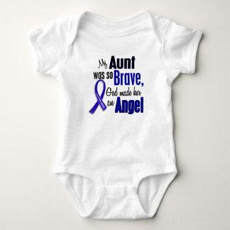 Colon Cancer ANGEL 1 Aunt Baby Bodysuit