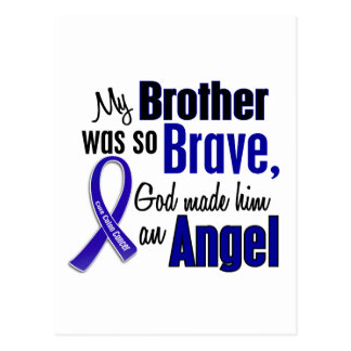 Colon Cancer ANGEL 1 Brother Postcard