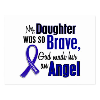 Colon Cancer ANGEL 1 Daughter Postcard