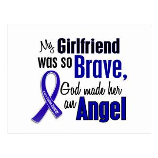 Colon Cancer ANGEL 1 Girlfriend Postcard