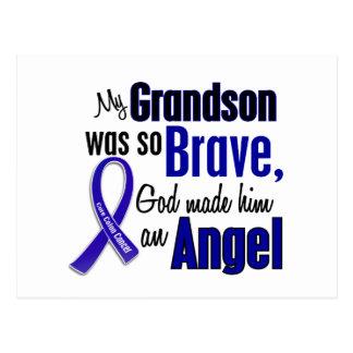 Colon Cancer ANGEL 1 Grandson Postcard