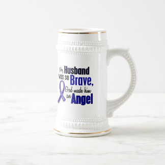 Colon Cancer ANGEL 1 Husband Beer Steins