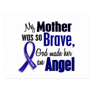 Colon Cancer ANGEL 1 Mother Postcard