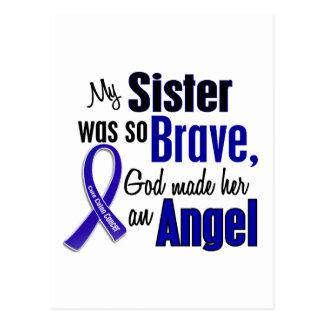Colon Cancer ANGEL 1 Sister Postcard
