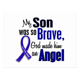 Colon Cancer ANGEL 1 Son Postcard
