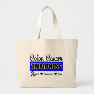 Colon Cancer Awareness Badge Bags