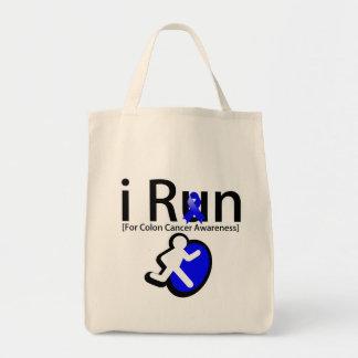 Colon Cancer Awareness I Run Bag