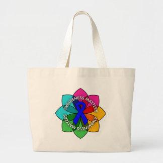 Colon Cancer Awareness Matters Petals Tote Bag