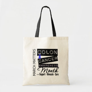Colon Cancer Awareness Month Tote Bag