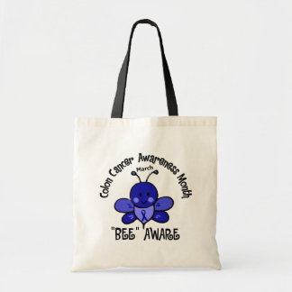 Colon Cancer Awareness Month Bee 1.2 Bag