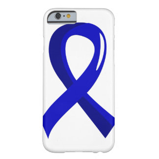 Colon Cancer Blue Ribbon 3 Barely There iPhone 6 Case