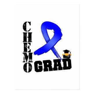 Colon Cancer Chemo Grad Postcards