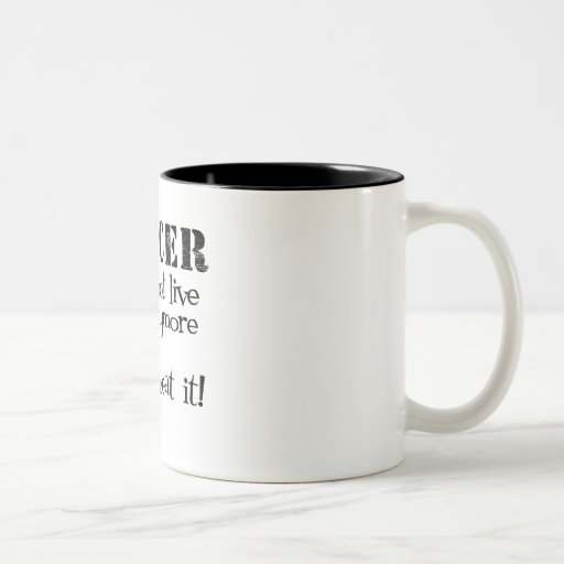 Colon Cancer Does Not Live Here Anymore Coffee Mug