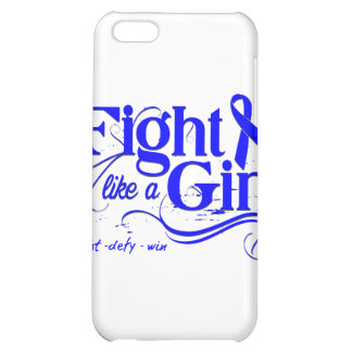 Colon Cancer Fight Like A Girl Elegant Cover For iPhone 5C