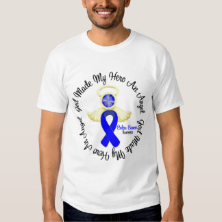 Colon Cancer God Made My Hero An Angel T-shirt