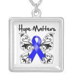 Colon Cancer Hope Matters Necklaces