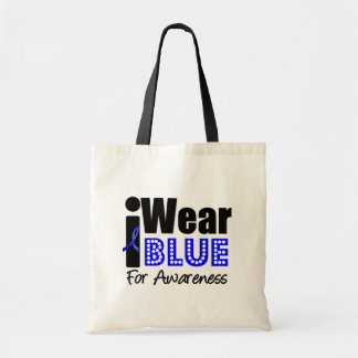 Colon Cancer I Wear Blue Ribbon For Awareness Bags