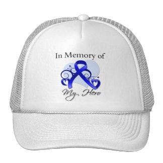 Colon Cancer In Memory of My Hero Mesh Hat