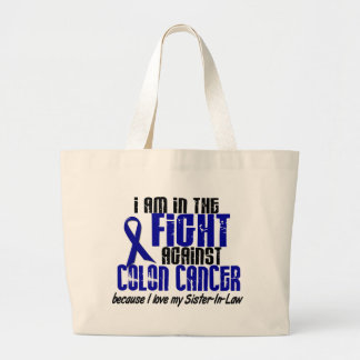 COLON CANCER In The Fight For My Sister-In-Law 1 Jumbo Tote Bag