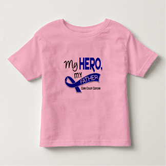 Colon Cancer MY HERO MY FATHER 42 Toddler T-Shirt