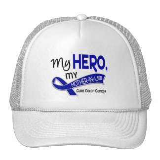 Colon Cancer MY HERO MY MOTHER-IN-LAW 42 Cap