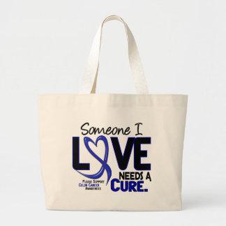 Colon Cancer NEEDS A CURE 2 Jumbo Tote Bag