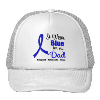 Colon Cancer Ribbon For My Dad Cap
