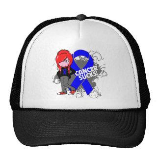 Colon Cancer Sucks Trucker Hats