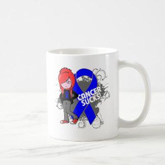 Colon Cancer Sucks Mug