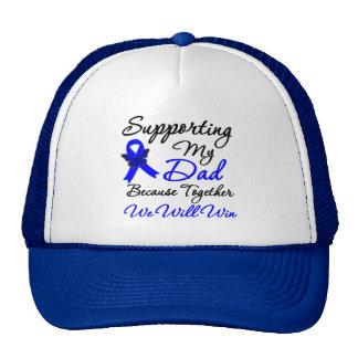 Colon Cancer Support (Dad) Hats