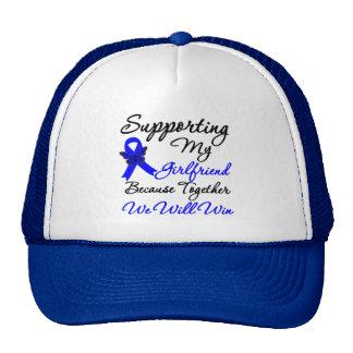 Colon Cancer Support (Girlfriend) Trucker Hat