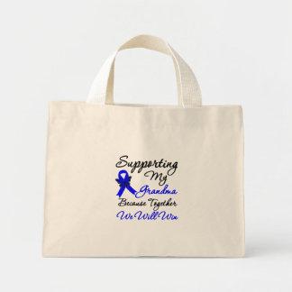 Colon Cancer Support (Grandma) Mini Tote Bag