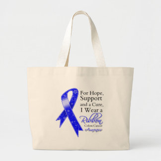 Colon Cancer Support Hope Awareness Bags