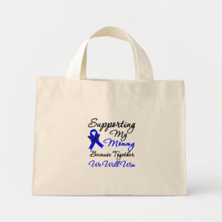 Colon Cancer Support (Mommy) Canvas Bags