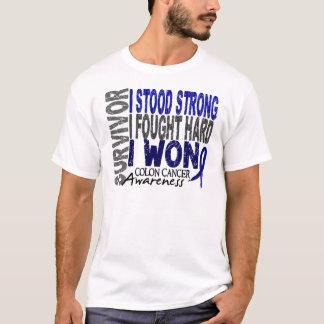 Colon Cancer Survivor 4 T-Shirt