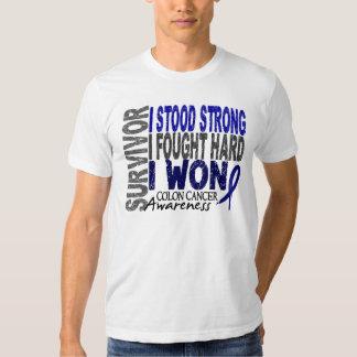 Colon Cancer Survivor 4 T Shirt